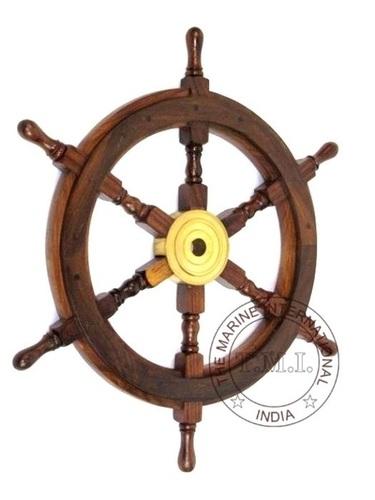 Wooden Decorative Ship Wheel