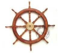 Nautical Wooden Decorative Ship Wheel