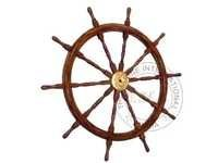 Collectible Wooden ship wheel