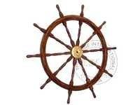 Collectible Wooden ship wheel