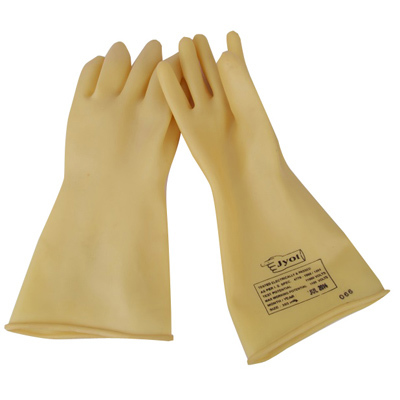 ELECTRCAL SHOCKPROOF SEAMLESS RUBBER HAND GLOVES