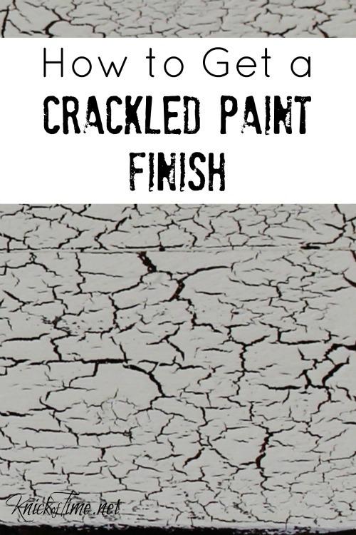 Crackle Finish Paint