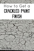 Crackle Finish Paint