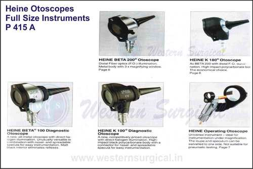 HEINE OTOSCOPES