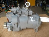 Tata Hitachi hydraulic pump repair