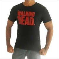 Printed Round Collar T Shirts