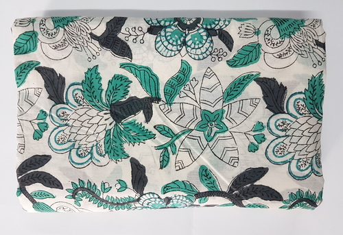 5 Meter Hand Block Print Fabric Indian Printed Fabric
