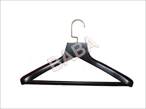 Black Wooden Coat, Suit Hangers
