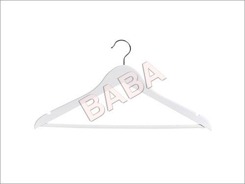 Wooden White Trouser Hangers