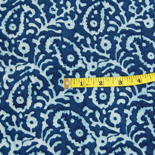 Sanganeri Hand Block Print Fabric 5 Meter Pure Cotton Fabric