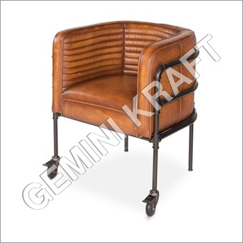 Industial Leather Chair