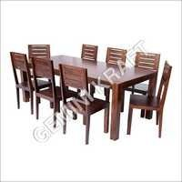 Inustrial Wooden Dining Set