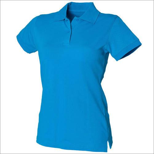 Ladies Collar T-Shirts