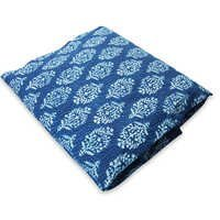 Indigo blue cotton fabric soma Designs  fabric for garments