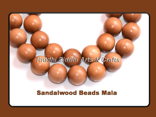 Aromatic Chandan Prayer  Bead Mala
