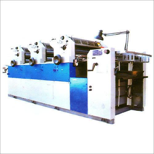 Offset Three Color Printing Machine