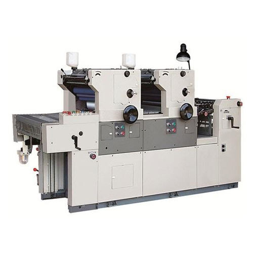 Satellite Model Offset Two Color Printing Machine