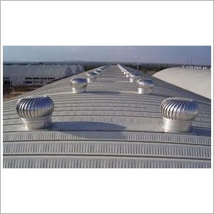 Wind Powered Turbo Air Ventilator