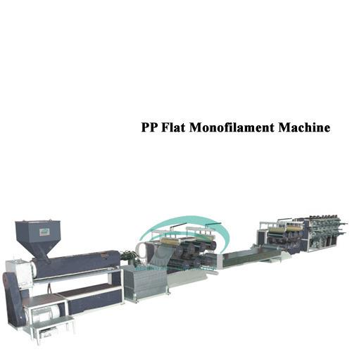 PP Flat Monofilament Machine