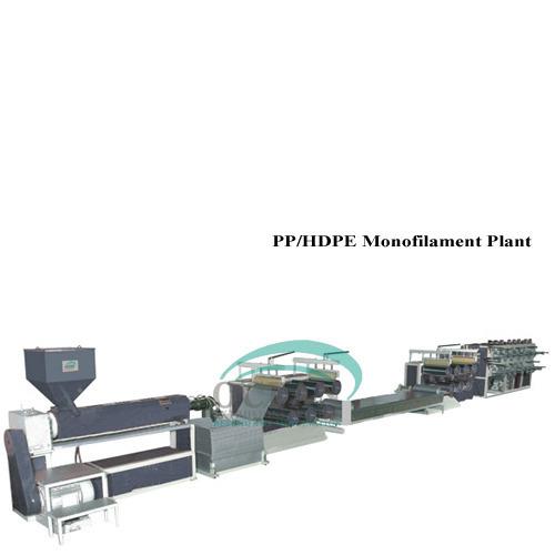 PP/HDPE Monofilament Plant