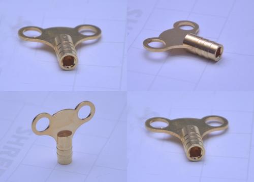 Brass Antique Clock Keys