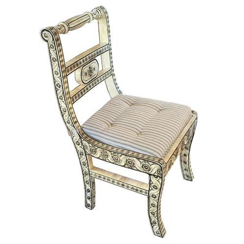 Antique Bone Inlay Chair