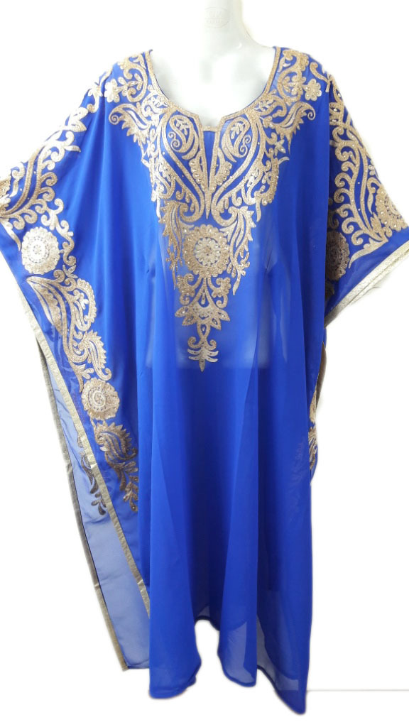 Short Length Kaftan Farasha Jalabiya Dress