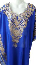 Short Length Kaftan Farasha Jalabiya Dress