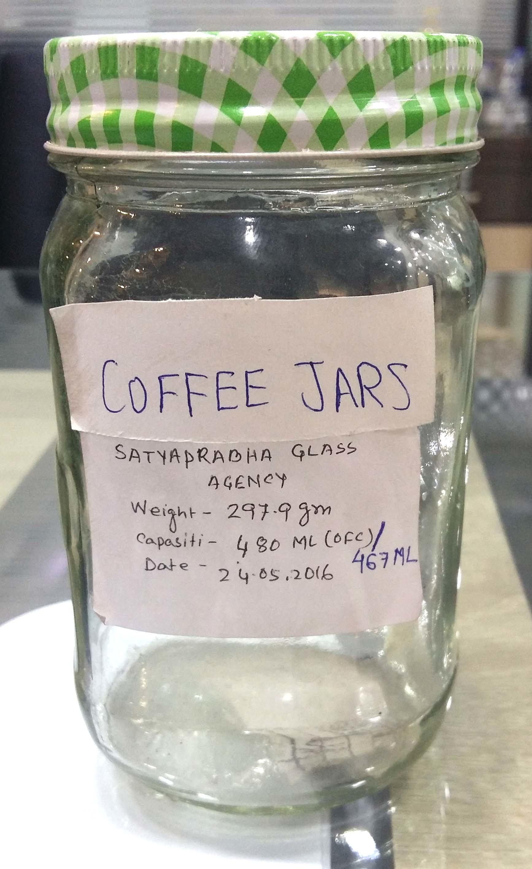 500 GM COFFEE JAR