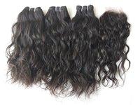 Temple unprocessed wavy hair