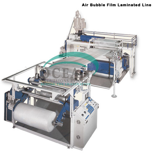 Air Bubble Film Foil Lamination Machine