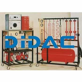 Compressors Study Unit Reciprocating And Rotative