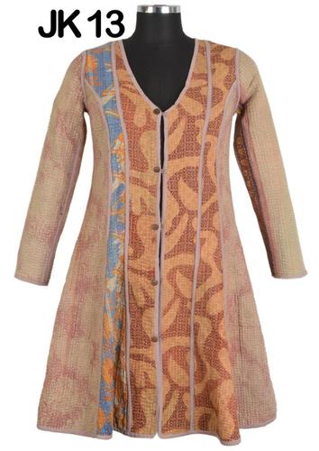 Cotton Kantha Quilt Jacket