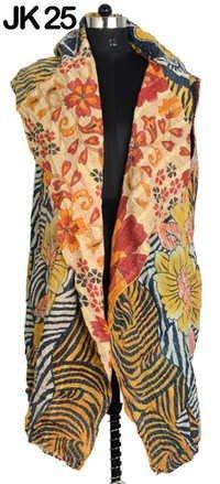 Long Kantha Quilt Jacket