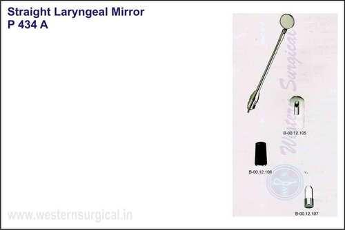 Straight Laryngeal Mirror