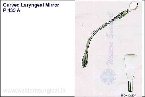 Curved Laryngeal Mirror