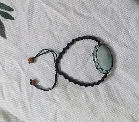 Thread Onyx Bracelet
