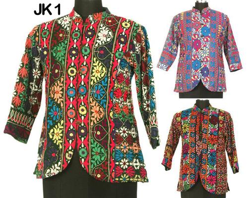 Vintage Upcycled Banjara Short Jacket