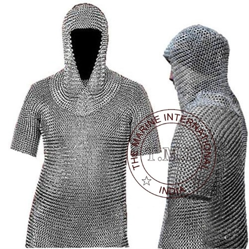 Chainmail Coif Armour
