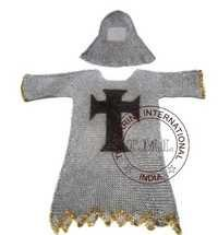 Chainmail Shirt Hood