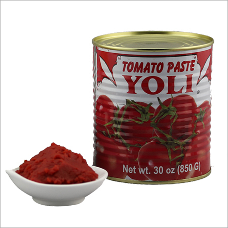 Double Concentrated Canned Tomato Paste 850g Tins