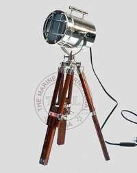 Nautical Searchlight With Tripod Stand