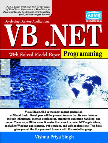 VB NET Publisher In Delhi,VB NET Supplier,Exporter,India