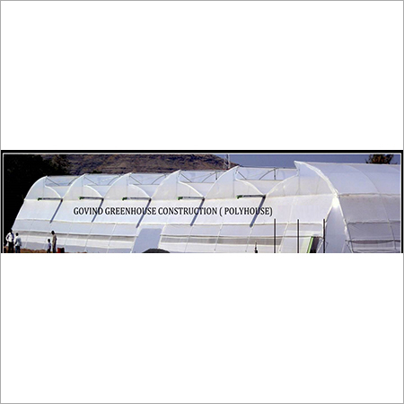 5 Natural Vantilated Greenhouse Polyhouse