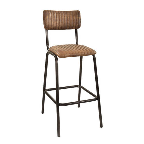 Counter height Leather Seat  Bar Stool