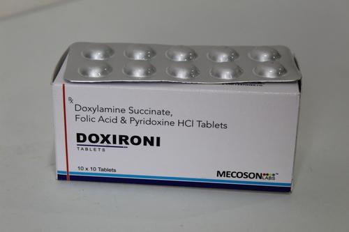 Doxylamine Folic Acid Pyridoxine Tablet