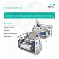 Double Layers Air Bubble Film Production Machine