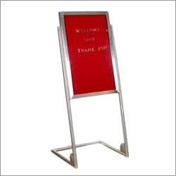 Stainless Steel Display Boards