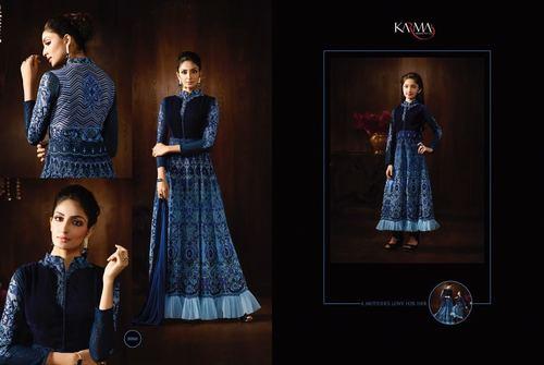 Buy Floor Lenth Designer Suit Online