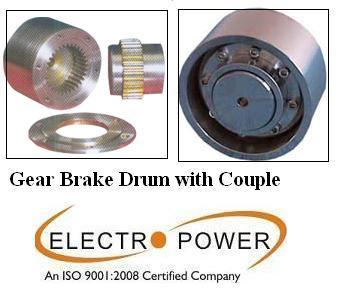 Geared Brake Drum Couplings